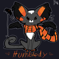 Humbledy Hallow kitty by sketch-it