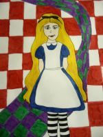 Alice Drawing by chloesmith8