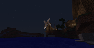 Windmill at Dusk by Minerunner