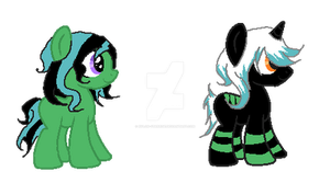 Foals for WolfChic345 by Xylon-Starrise
