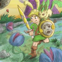 A New Companion - Leafeon joins Link by Jo-Onis