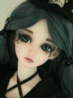 Gothic Butterfly face-up 4 by PinkHazard