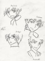 Corpse Party Doodles by MouseSky