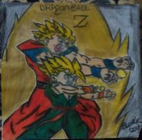 Gohan and trunks by blackcat1812