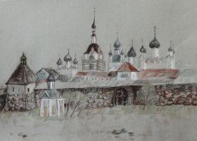 Solovetsky Monastery by arzaliz