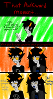 Homestuck: Awkward Moments 3 by RougeChocobo