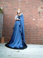 Blue Dress Stock 3 by Elandria