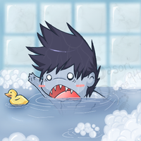 Kisame's Bath Time by SasoriDanna94
