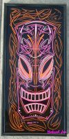 pinstriped tiki tri color by HotRodJen