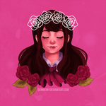 [Ib] Red Roses by SkinBerry