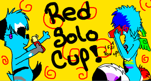 Red Solo Cup - Collab With BeautifulNightmare2 by Silent-x-Moon