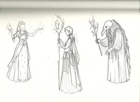 Thesis sketches by IzzyLawlor
