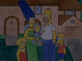 The Simpsons by DirtyD41