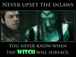 Never upset the in laws - Hobbit Meme by Faerietopia