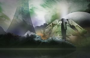 Halo world BG 002 by jagged-eye