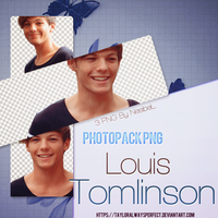 Louis Tomlinson PNG Pack by tayloralwaysperfect