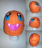 Charmander Hat by kireena