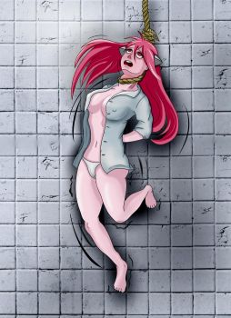 Hanging Lucy by GelDibson