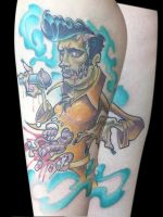 zombie elvis done by michaelbrito
