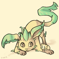 leafeon by foxiz