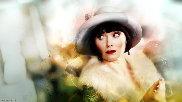 Miss Fisher's Murder Mysteries Wallpaper by aunexisteamor