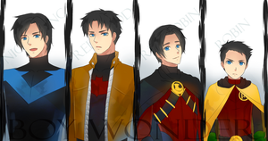 Batman: Boy Wonder by Junez-chan