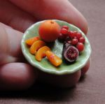 Fruit Plate by fairchildart