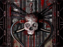 Skull machine by serox