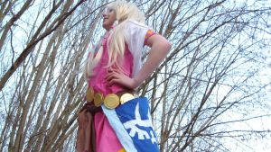 Zelda skyward sword cosplay by zeldachuu