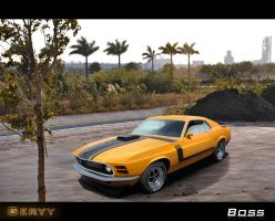 Ford Mustang Boss by Geryy