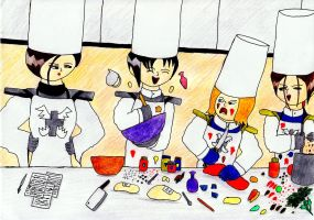 Cooking Lesson by lordtrigonstar
