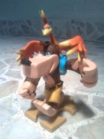 Banjo-Kazooie Sculpture by Kyunae