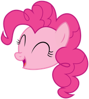 Singing Pinkie Pie by Pikamander2