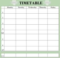 TMNT-U Timetable Base by SavirtriXLeo