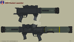 USCMC M84 Rocket Launcher by Wolff60