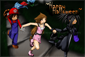 ++Happy Halloweenie++ by BabiSasuke