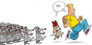 And now - ZOMBIE MICE by rico-xx