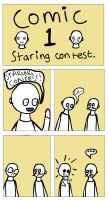 Mustacheo and Baldy comic 1 by Fraped