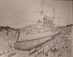 The Calida Portum Slipway by steamby51