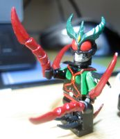 Custom LEGO Kamen Rider Exceed Gils from AGITO by Digger318