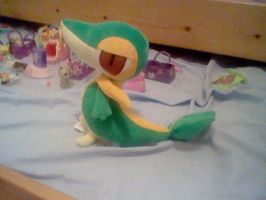 MY TSUTARJA PLUSH by Hearts-The-Eevee