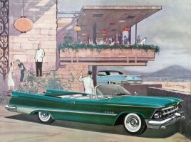 age of chrome and fins : 1959 Imperial 3 by Peterhoff3