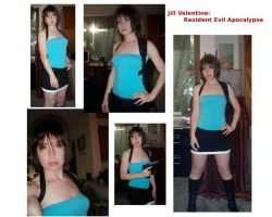 Finished Jill Costume Montage by GreenElfie