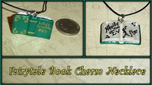 Fairytale Ending - Book Charm by YellerCrakka