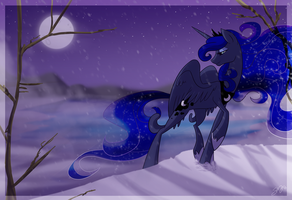 Winter Stroll by Famosity