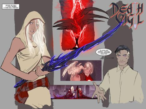 death vigil- forgotten things by nebezial