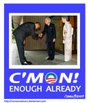 C'mon Enough Already by Conservatoons