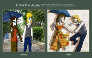 Draw this again contest by Ey-chan-Y-Taipu