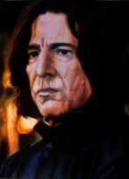 Snape by QuantumGinger
