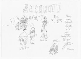 Evogulator: Sakamoto Quest Poses/Ref + Info/Bios by jesus77755